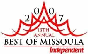 Best of Missoula logo, 2007