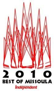 Best of Missoula logo, 2010