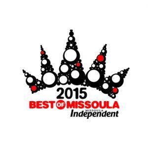 Best of Missoula logo, 2015