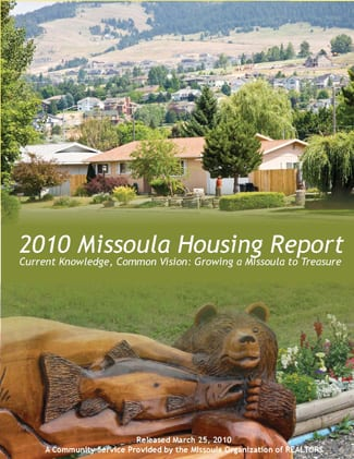 Cover Page, 2010 Missoula Housing Report