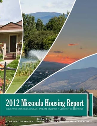 Cover Page, 2012 Missoula Housing Report