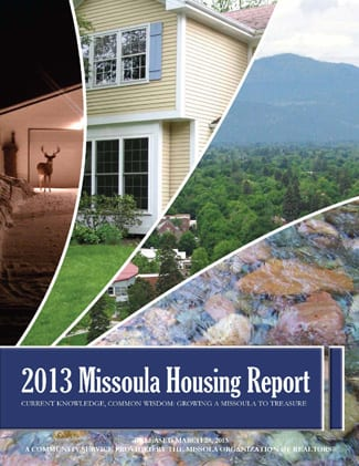 Cover Page, 2013 Missoula Housing Report