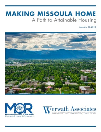Making Missoula Home Cover Page - 2018