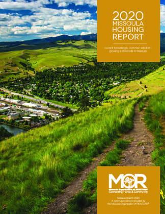 2020 Missoula Housing Report Cover